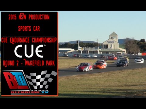 2015 NSW PRODUCTION SPORTS CARS CUE ENDURANCE CHAMPIONSHIP   ROUND 2 WAKEFIELD PARK