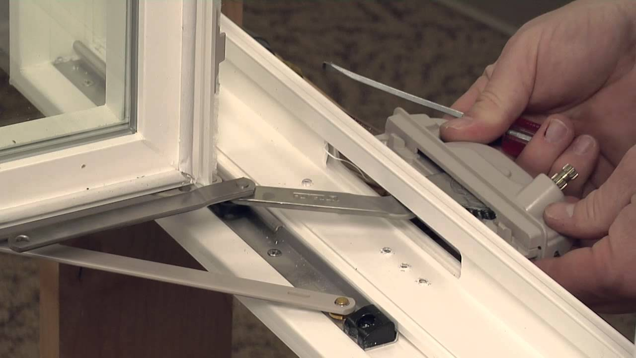 how to replace a single arm operator on a casement window youtube