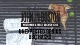 John Boston's BBQ hacks with Andy Allen - Brick Chicken