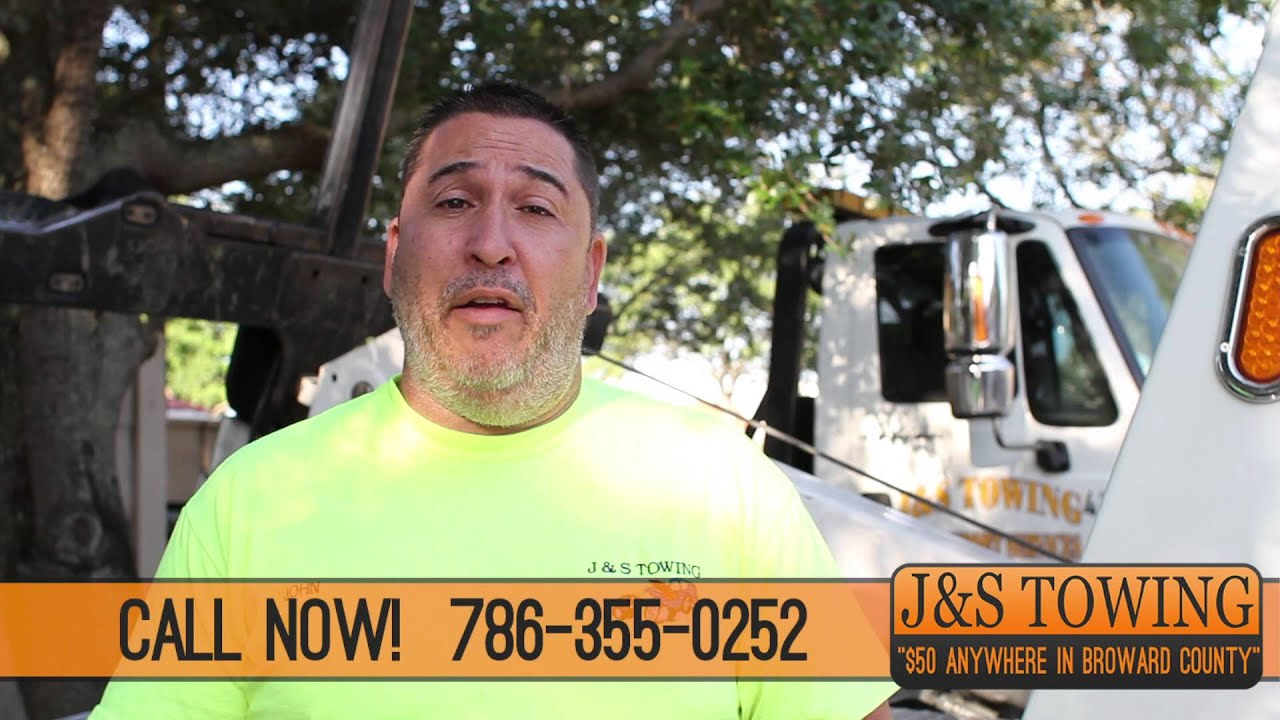 J & S Towing >> J S Towing And Transport Services Fort Lauderdale