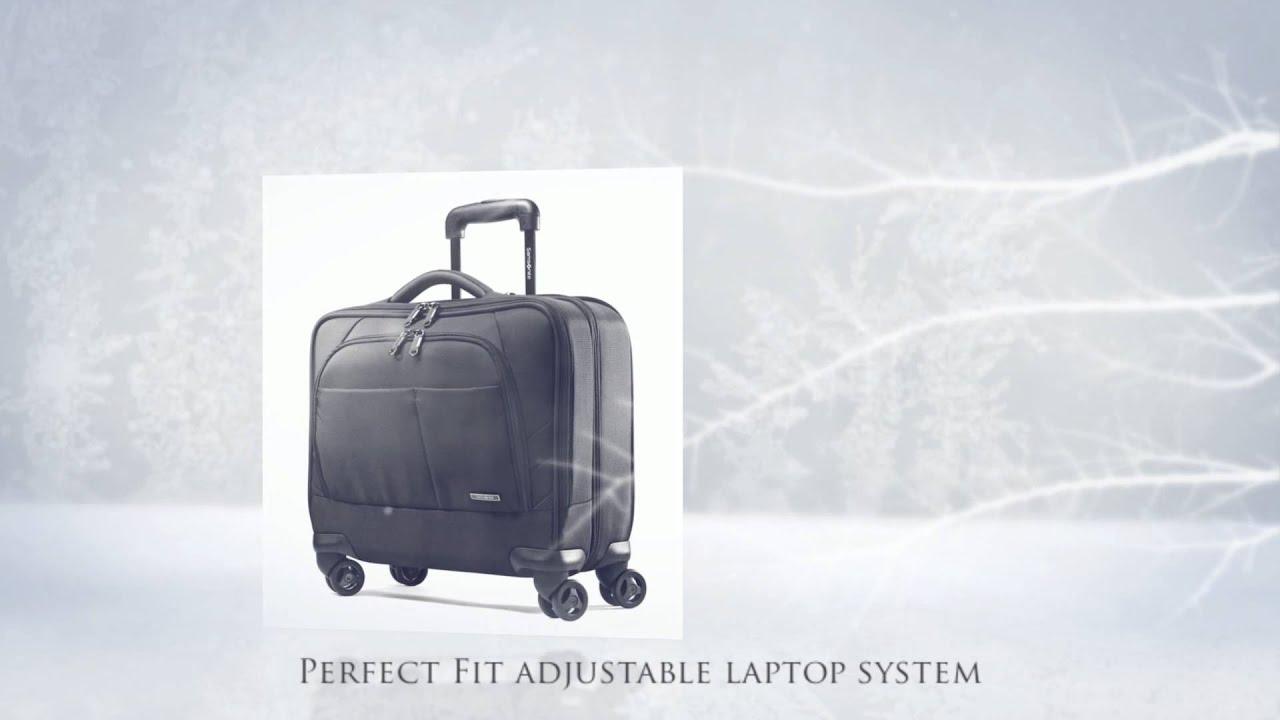 4eaff104ed5 Samsonite Xenon 2 Spinner Mobile Office - PFT - YouTube