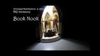 책꽂이 미니어처 DIY Book Nook bookshe…