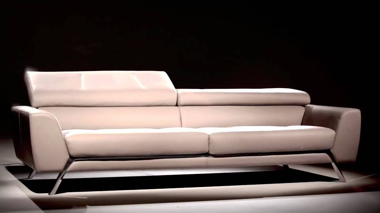 Grand canap 3 places cirrus youtube for Canape natuzzi