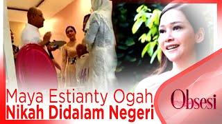 Maya Estianty Ogah Nikah Didalam Negeri Apa Alasannya OBSESI