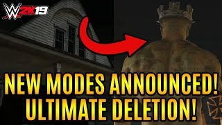 ZOMBIE TRIPLE H! Ultimate Deletion MODE!, New Secrets Revealed & MUCH MORE! (WWE 2k19 Trailer)