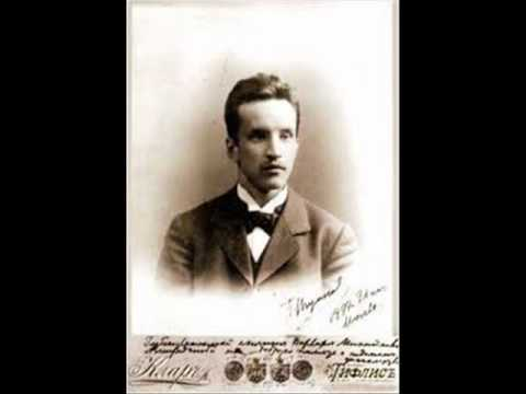 "Konstantin Igumnov plays Liadov  ""Variations sur un thème de Glinka"" Op. 35"