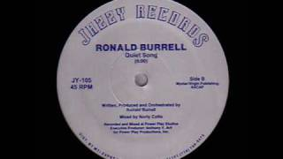 Ronald Burrell - Quiet Song