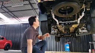 LIVE - ยกล้างช่วงล่าง ล้างใต้ท้องรถ รถกระบะ Ford Ranger ถามราคา คลหงหลวง ปทุมธานี