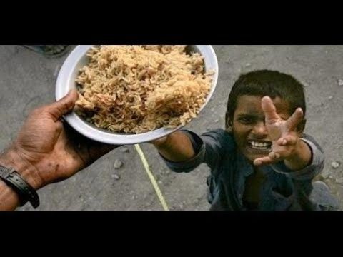 The Gift Of Life -  Think Before you waste food - Please watch and share it