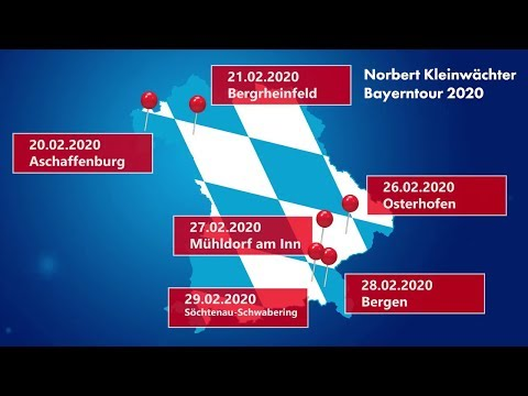 Die AfD zu Rente und Sozialstaat - Norbert Kleinwächter AfD 20.02.2020 - Bananenrepublik