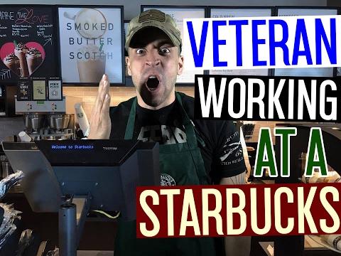 Veteran Working At A Starbucks!