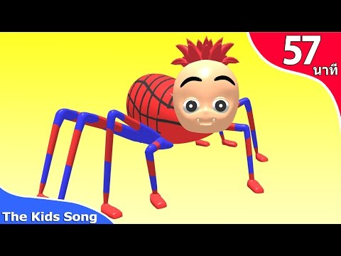 แมงมุมลายตัวนั้น |  รวมเพลงเด็กในตำนาน 57 นาที - the kids song