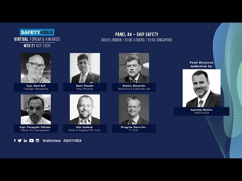 2020 SAFETY4SEA Virtual Forum: Key issues for enhanced ship safety