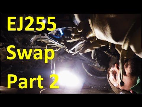 EJ255 DOHC Engine Swap | Subaru Outback XT Part 2