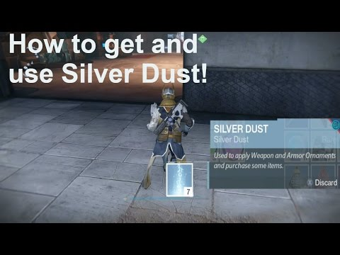 Destiny Rise of Iron: How to use and get Silver Dust!