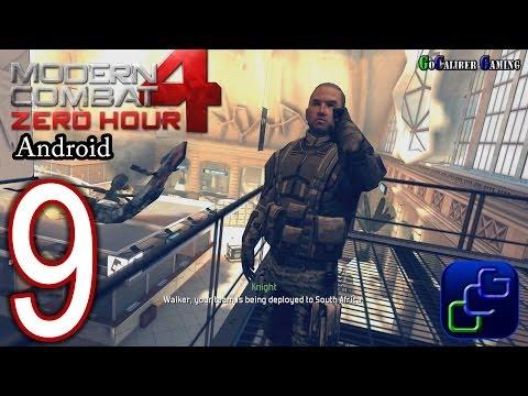 Modern Combat 4: Zero Hour Android Walkthrough - Part 9 - Mission 8: Terminus