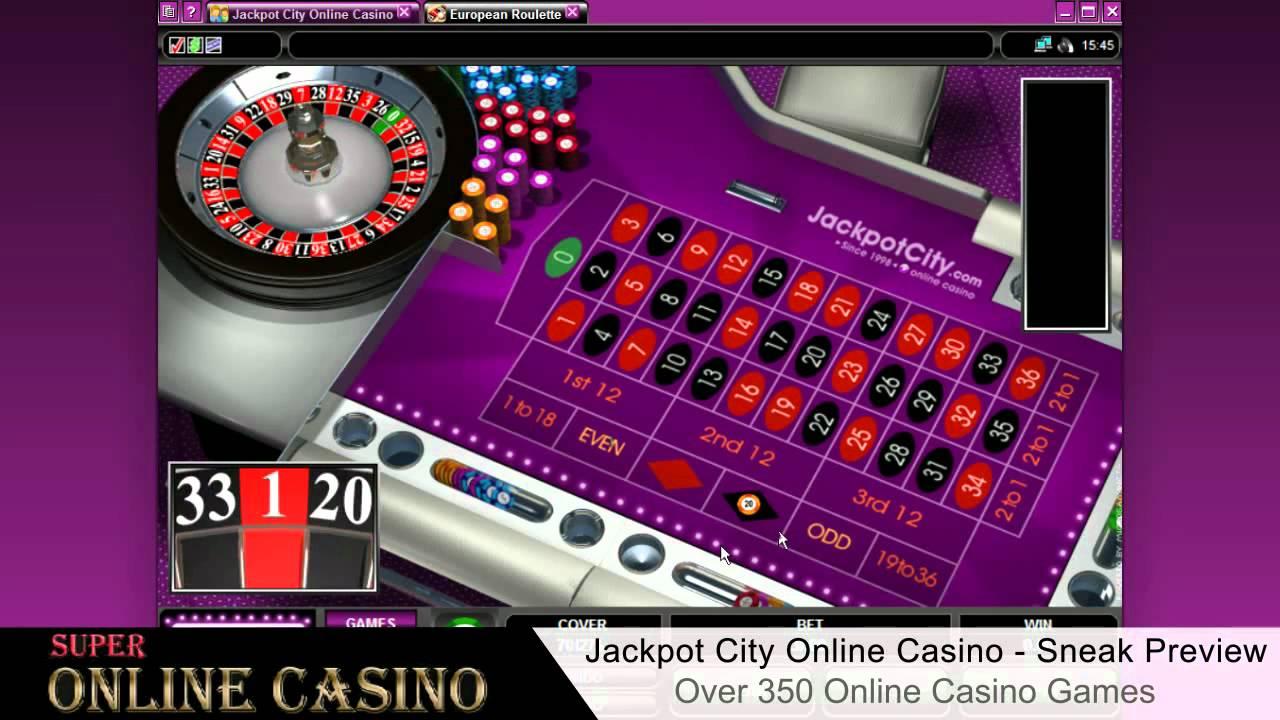 джекпот сити казино онлайн