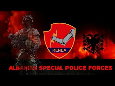 RENEA 2018 Albanian Special Police Force