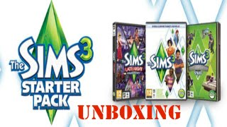The Sims 3 Starter Pack Unboxing / Los Sims 3 Starter Pack