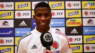 Reacciones Jugadores Selección Colombia