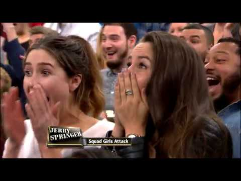The Moment That Shocked Everyone!!!!!!!!!!!! (The Jerry Springer Show)