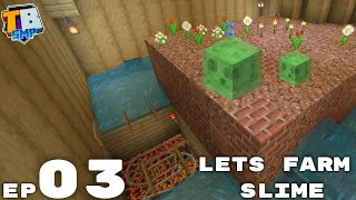 Basic Slime Farm And Fastest Horse - Truly Bedrock Season 2 Minecraft SMP Episode 3
