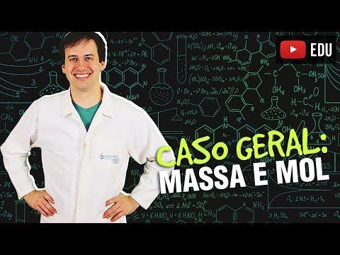 6. Cálculo Estequiométrico - Caso Geral: Massa e MOL [Química Geral]