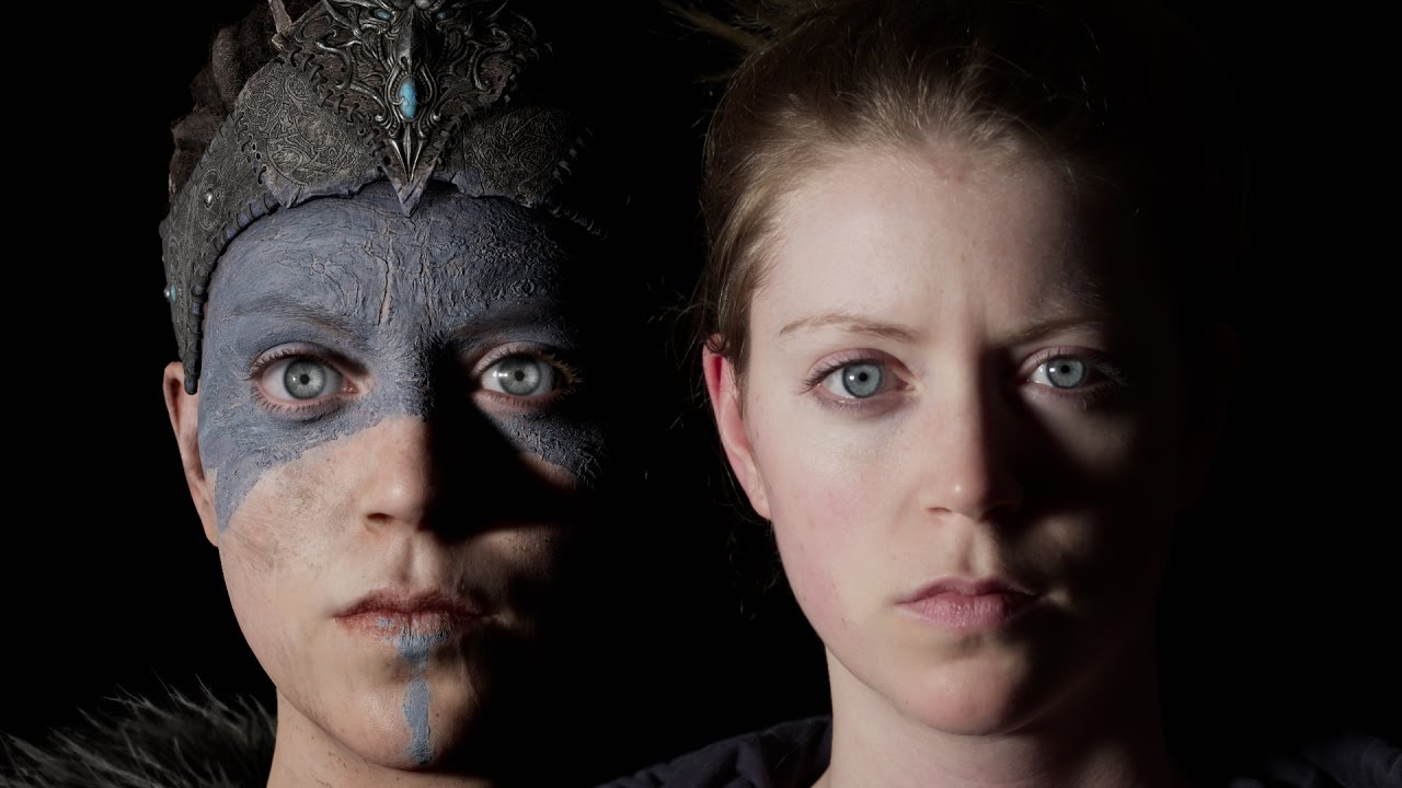 Image result for hellblade senua's sacrifice talking to screen