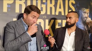 """""""Andy Ruiz will TEAR Deontay Wilder to pieces!"""" Eddie Hearn gives update on AJ-Fury, Canelo, Usyk"""