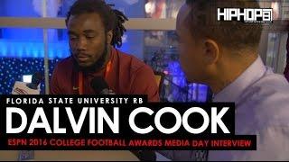 Florida State Dalvin Cook Talks Jimbo Fisher, Michigan & More at ESPN College Football Awards