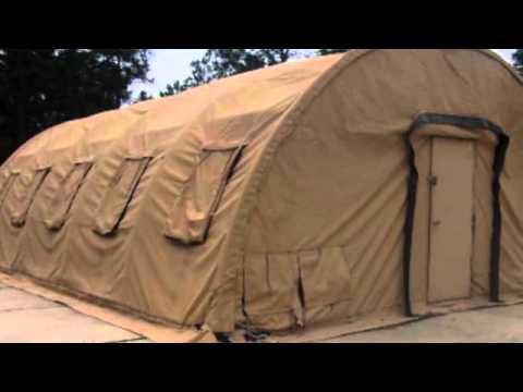 Alaska Structures Tent on GovLiquidation.com & Alaska Structures Tent on GovLiquidation.com - YouTube