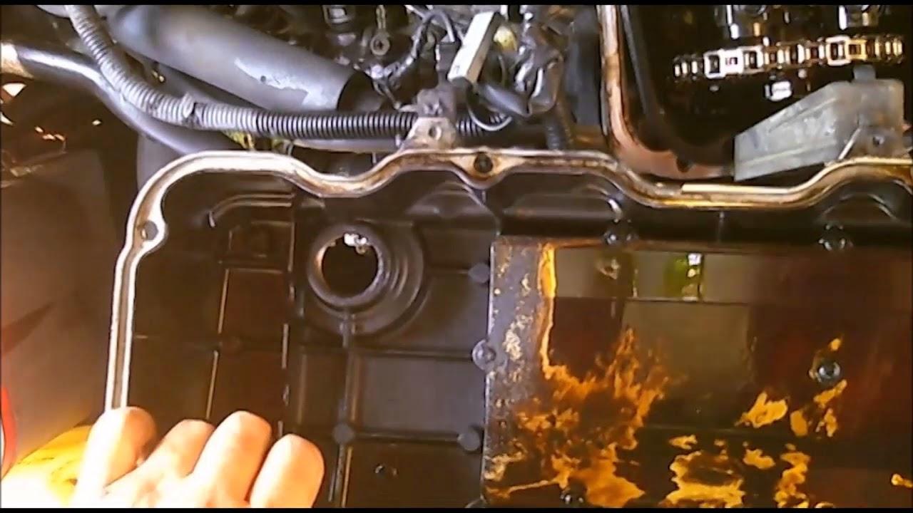 nissan replacing the timing chain on a 1997 hardbody pickup truck ka24 engine [ 1280 x 720 Pixel ]