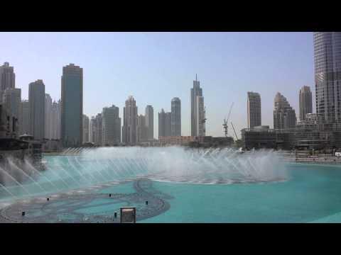 Dubai Fountain Nice Opera Song