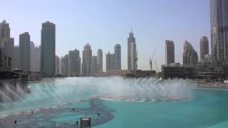 Dubai Fountain Nice Opera Song