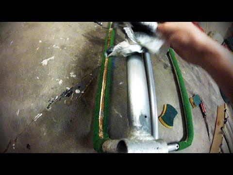 How to - Repair and protect Aluminium. Easy DIY WD40 life hack!