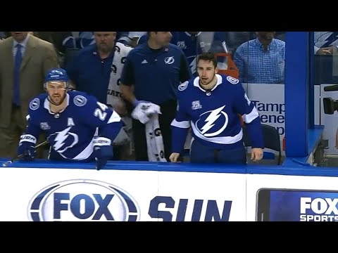 Callahan, Paquette irate after referee chucks glove at bench