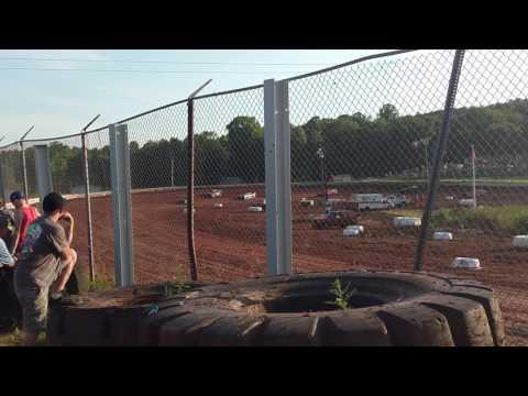 Street stock heat 1 Midway Speedway 6/5/16
