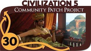 Civilization 5 - Ep. 30 - Community Patch Project as Byzantium - Let