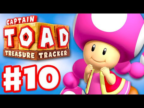 Captain Toad: Treasure Tracker - Gameplay Walkthrough Part 10 - The Search for Captain Toad! 100%