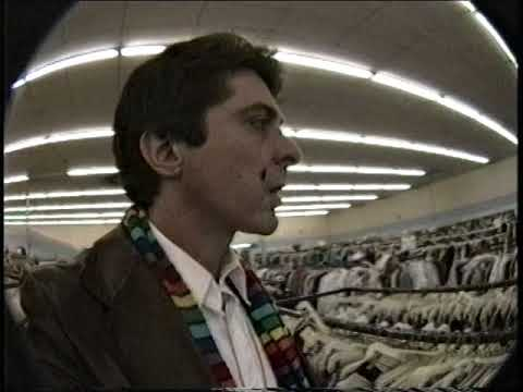 Going to the Value Village Thrift Store in Atlanta in 1989
