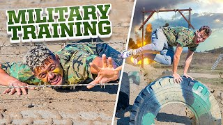 2HYPE Extreme Military Training Obstacle Course Challenge