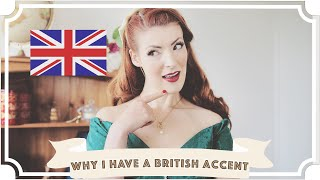 Why I Have A British Accent [CC] Video