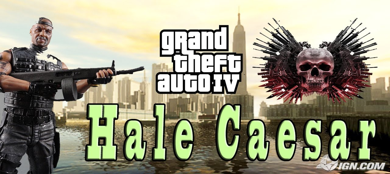 Download GRAND THEFT AUTO IV: HALE CAESAR - THE EXPENDABLES 2