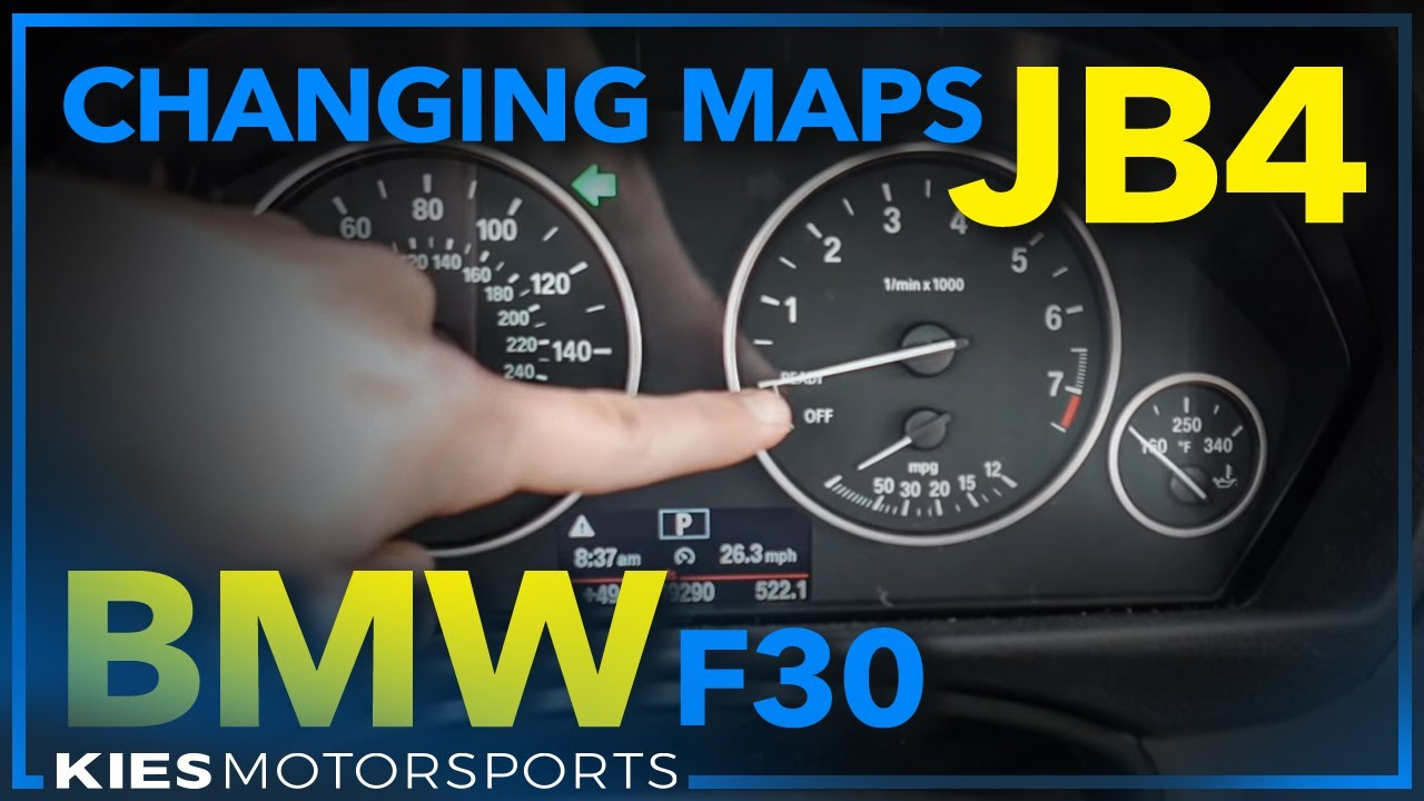 JB4 Changing Maps, Modes and Golf Tee Mod BMW F30 (Must see for any