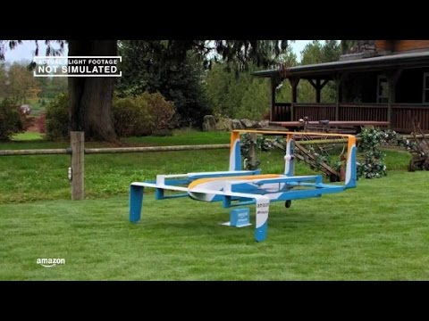 Watch Amazon's latest drone demo