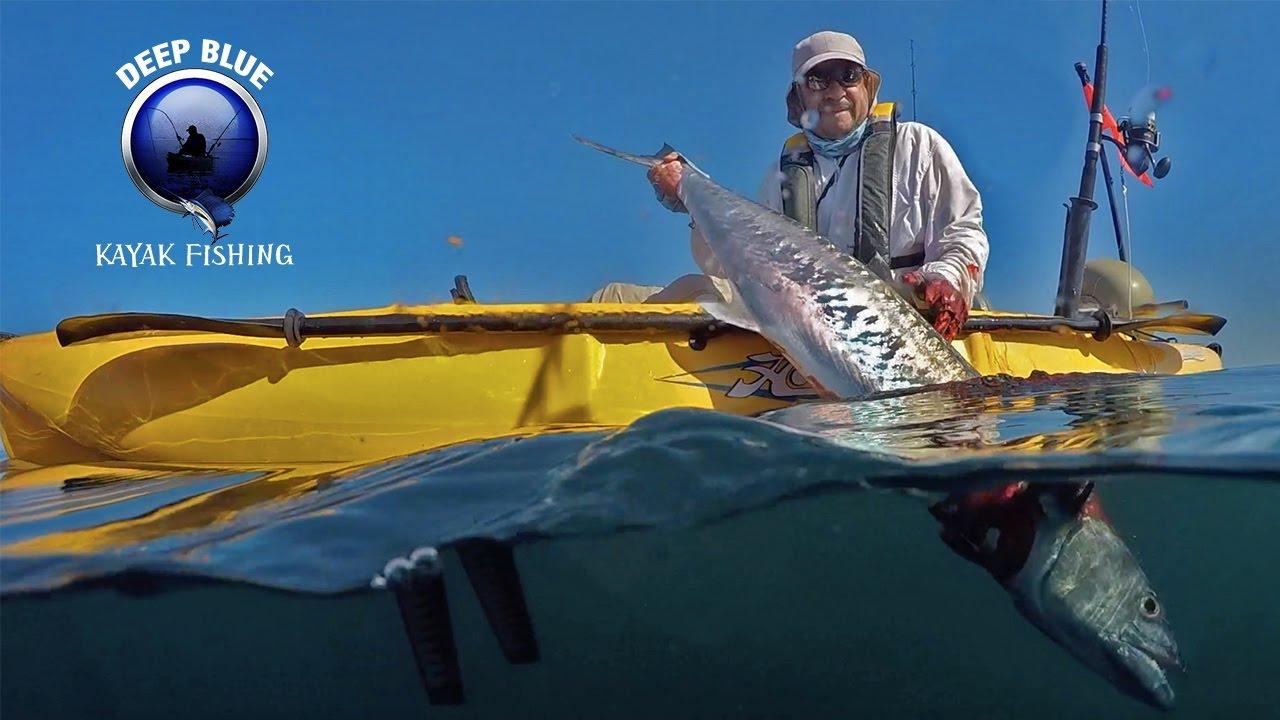 30 6lb king mackerel deep blue kayak fishing youtube for Deep blue kayak fishing