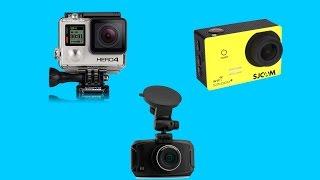 GoPro HERO4 vs SJ5000 Plus vs GS90C Car Dvr Comparison