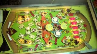 1973 Bally HI-LO ACE pinball machine