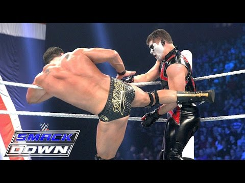 Del Rio Vs. Stardust – WWE World Heavyweight Championtitel Turnier: SmackDown – 12. Nov. 2015