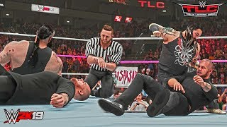WWE 2K19 Bray Wyatt Returns to Help Braun Strowman vs Baron Corbin ft. Referee Heath Slater TLC 2018